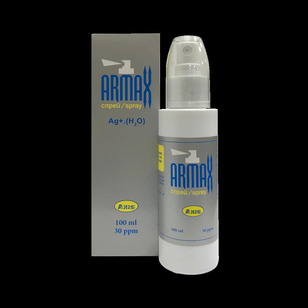 Сребърна вода спрей Армакс за локално приложение
